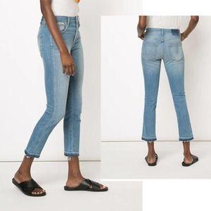 "AMO ""Babe"" Women's Jeans In 70's Blue Size: 26"